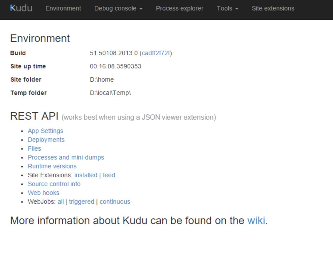 Kudu home page