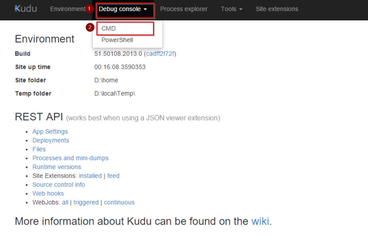 Kudu view files